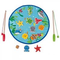 Hape: Lets Go Fishing Game image