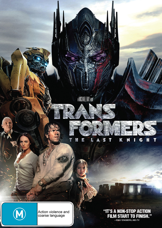 Transformers: The Last Knight on DVD