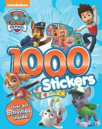 Nickelodeon PAW Patrol 1000 Stickers by Parragon Books Ltd image