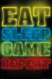 Gaming - Neon Maxi Poster (841)