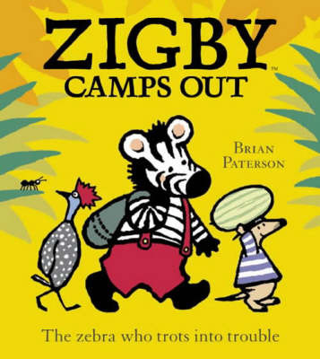 Zigby Camps Out by Brian Paterson image