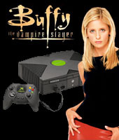 Xbox Console + Buffy The Vampire Slayer for Xbox