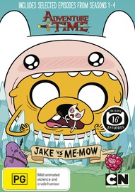 Adventure Time: Collection 3 - Jake vs Me-Mow on DVD