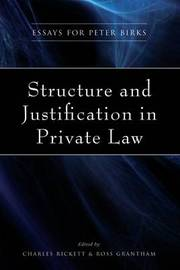 Structure and Justification in Private Law image