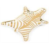 Jonathan Adler - Zebra Stacking Dish - Gold
