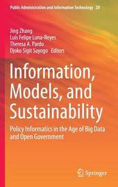 Information, Models, and Sustainability
