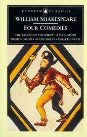 Four Comedies by William Shakespeare image