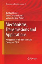 Mechanisms, Transmissions and Applications image