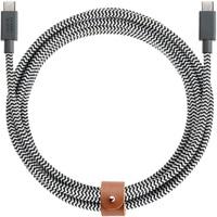 Native Union Belt Cable USB-C to USB-C 2.4M (Zebra)