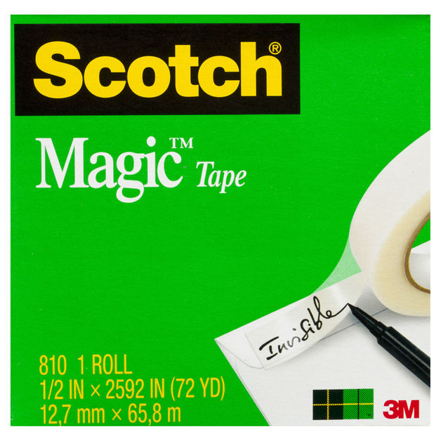 Scotch Magic Tape (12.7mm x 66m)