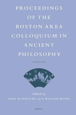 Proceedings of the Boston Area Colloquium in Ancient Philosophy image
