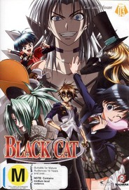Black Cat - Vol. 3: Cat And Mouse on DVD image