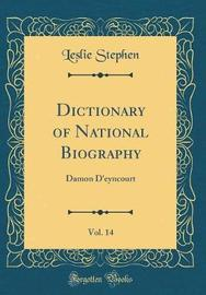 Dictionary of National Biography, Vol. 14 by Leslie Stephen image