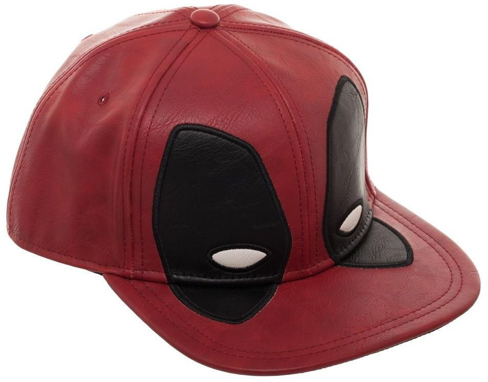 Deadpool: Big Face Distressed - Snapback Cap image