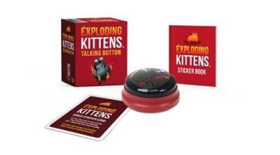 Exploding Kittens: Talking Button by Running Press
