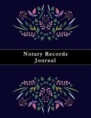 Notary Records Journal by Paper Kate Publishing