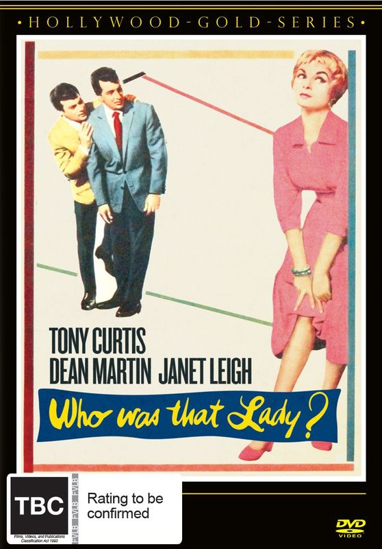 Who Was That Lady? on DVD
