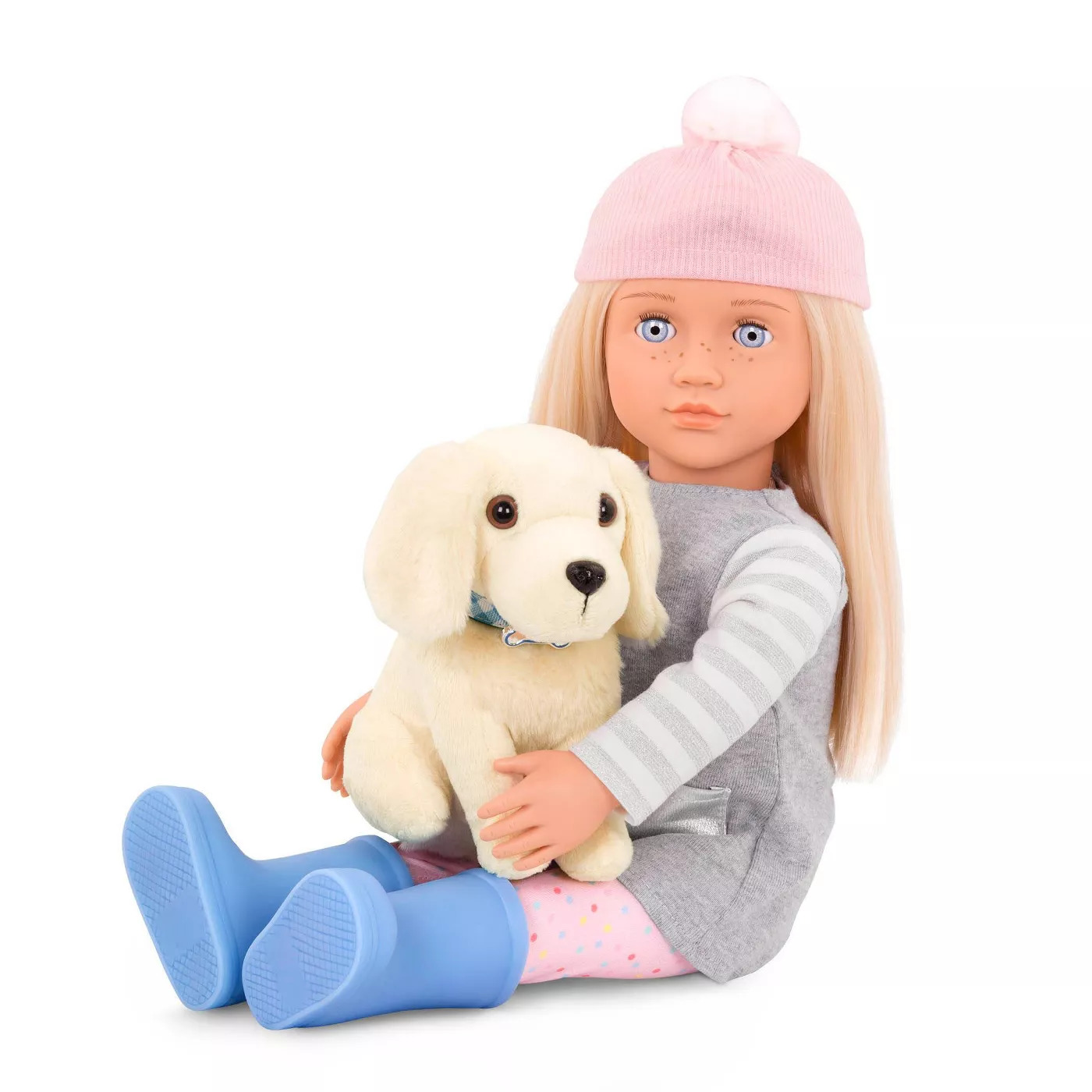"Our Generation: 18"" Doll & Puppy Set - Megan image"