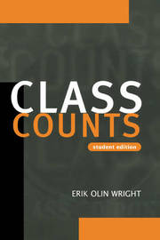 Class Counts Student Edition by Erik Olin Wright image