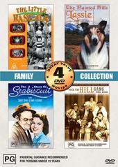 Family Collection Volume Two - 4 Movie Box Set (2 Discs) on DVD