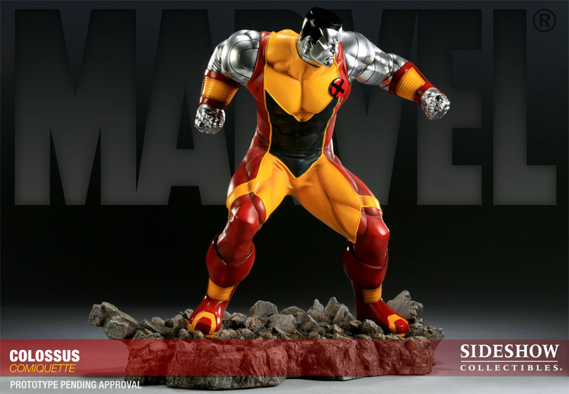 X-Men Colossus Polystone Comiquette Statue images, Image 4 of 7