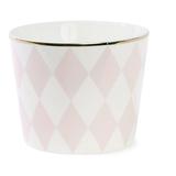 Miss Étoile - Rose Harlequin Latte Bowl