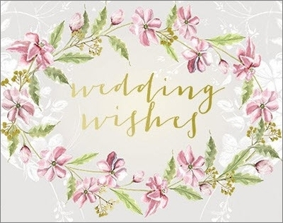 Watercolour Wedding - Greeting Card