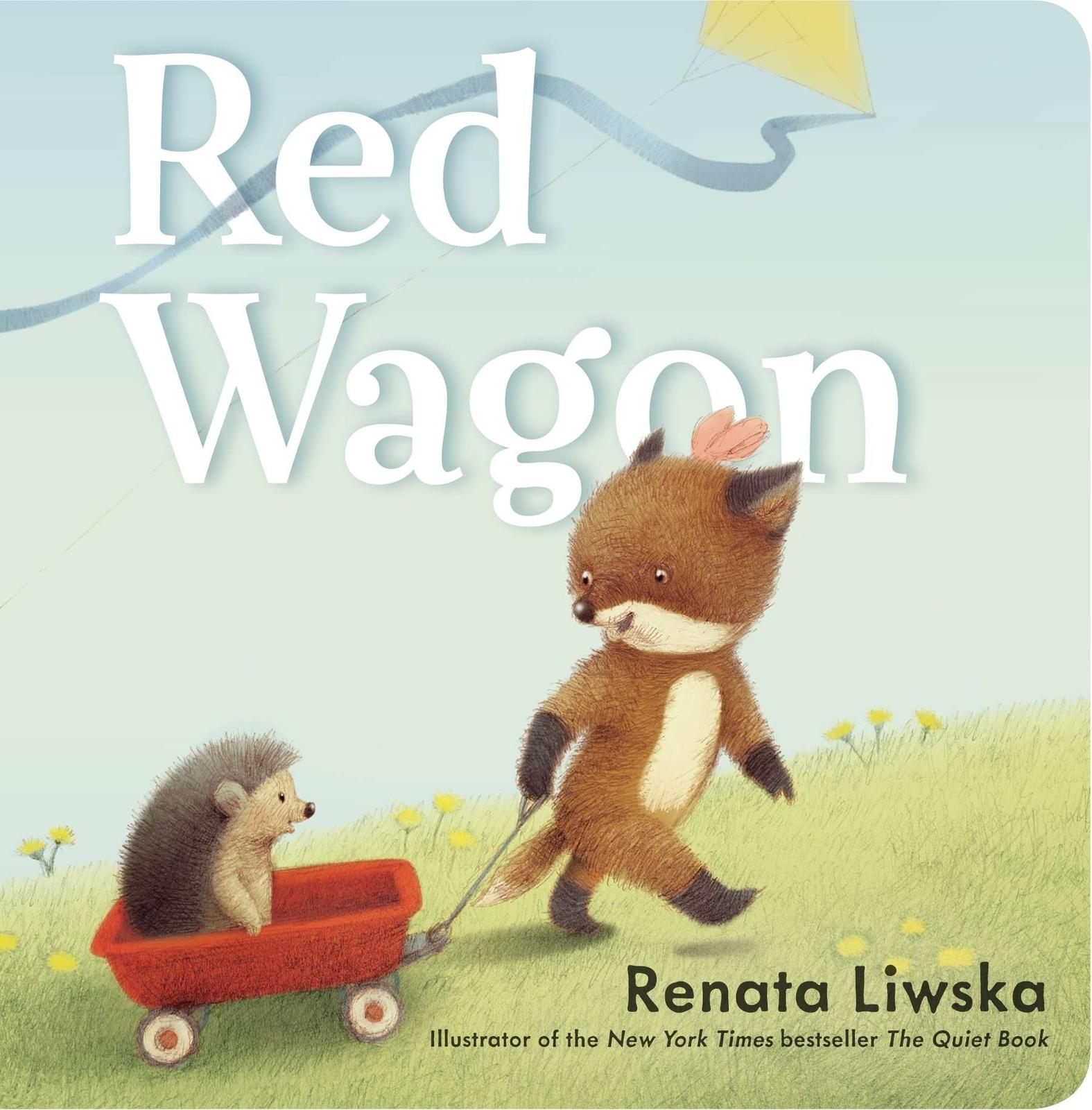 Red Wagon by Renata Liwska image