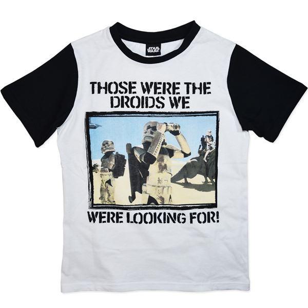 Star Wars Droids T-Shirt (Size 8) image