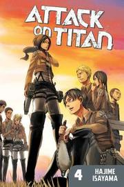 Attack On Titan: Vol. 4 by Hajime Isayama