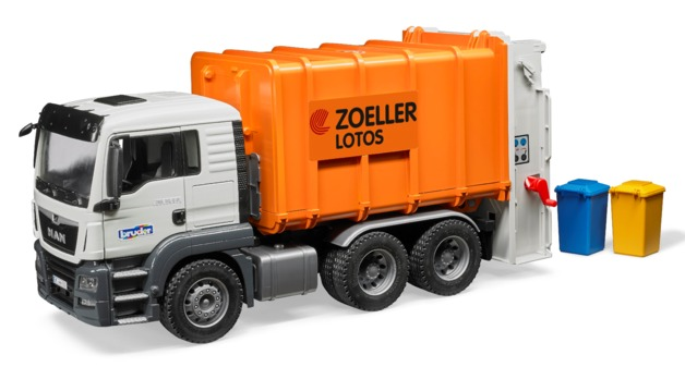 Bruder: MAN TGS Rear Loading Garbage Truck
