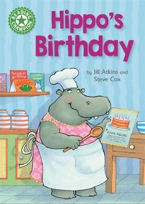 Reading Champion: Hippo's Birthday by Jill Atkins image