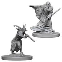 D&D Nolzurs Marvelous: Unpainted Miniatures - Elf Male Druid