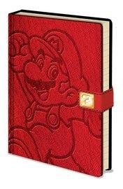 Super Mario Premium A5 Notebook - Jump