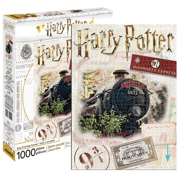 Harry Potter: 1,000 Piece Puzzle - Hogwarts Express