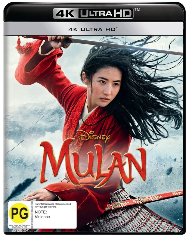 Mulan (2020) (4K UHD) on UHD Blu-ray