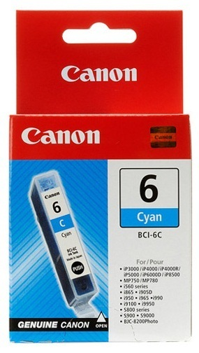 Canon Ink Cartridge - BCI6C (Cyan)
