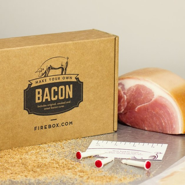 Make Your Own Bacon - DIY Food Kit