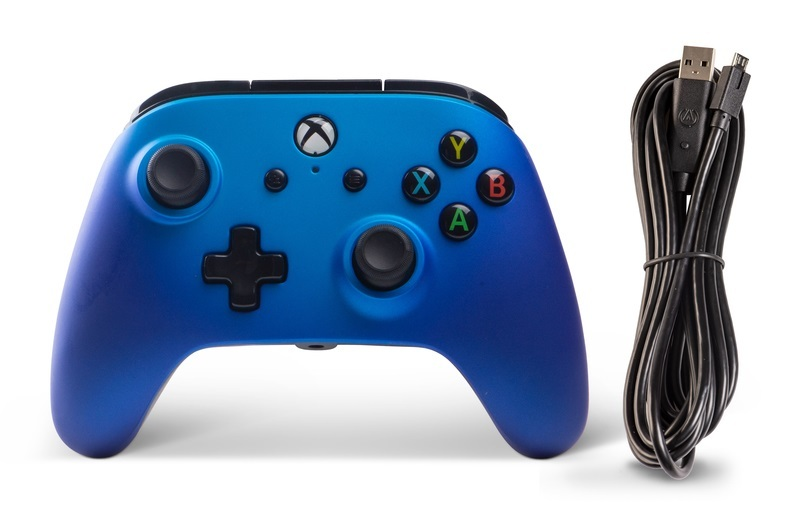 Xbox One Enhanced Wired Controller - Sapphire Fade for Xbox One image