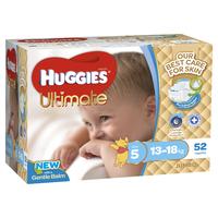 Huggies Ultimate Nappies : Jumbo Pack - Walker Boy 14-18kg (52)