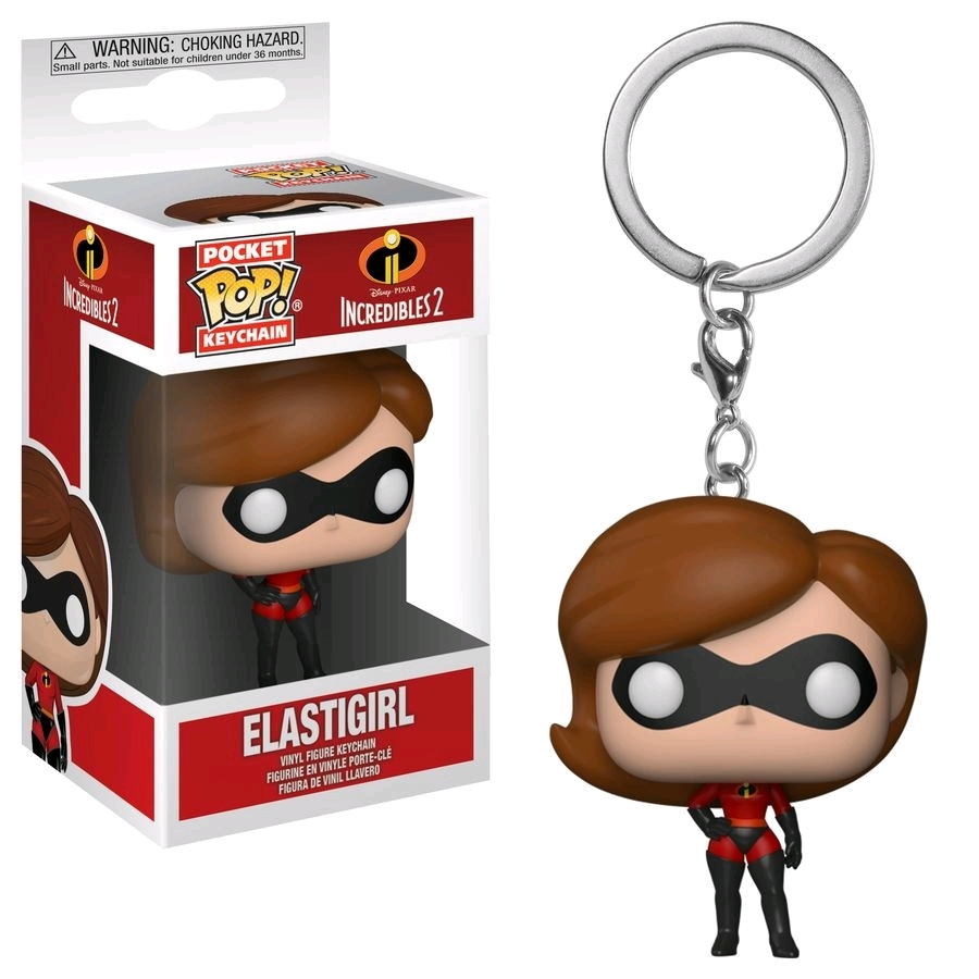 Incredibles 2 - Elastigirl Pocket Pop! Keychain image