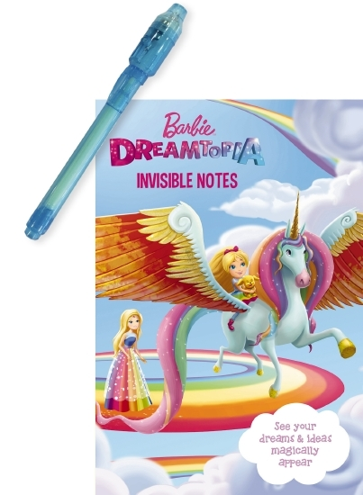 Barbie: Dreamtopia Invisible Notes Journal