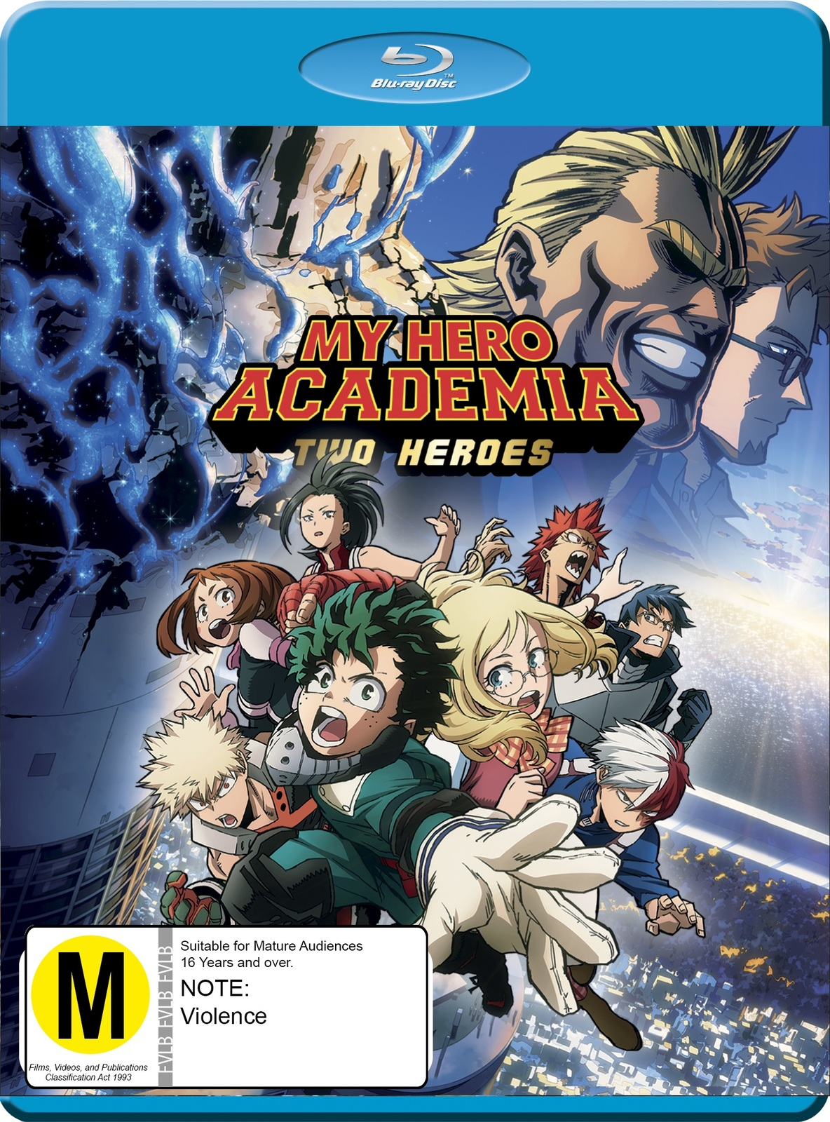 My Hero Academia Two Heroes Dvd Blu Ray In Stock Buy Now At Mighty Ape Nz