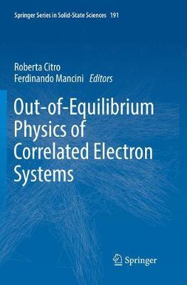 Out-of-Equilibrium Physics of Correlated Electron Systems
