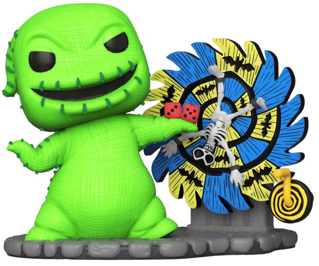 NBX - Neon Oogie Boogie (with Spinwheel) Pop! Deluxe Figure