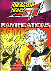 Dragon Ball GT Vol 05 -  Ramifications on DVD