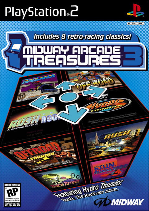 Midway Arcade Treasures 3 for PS2