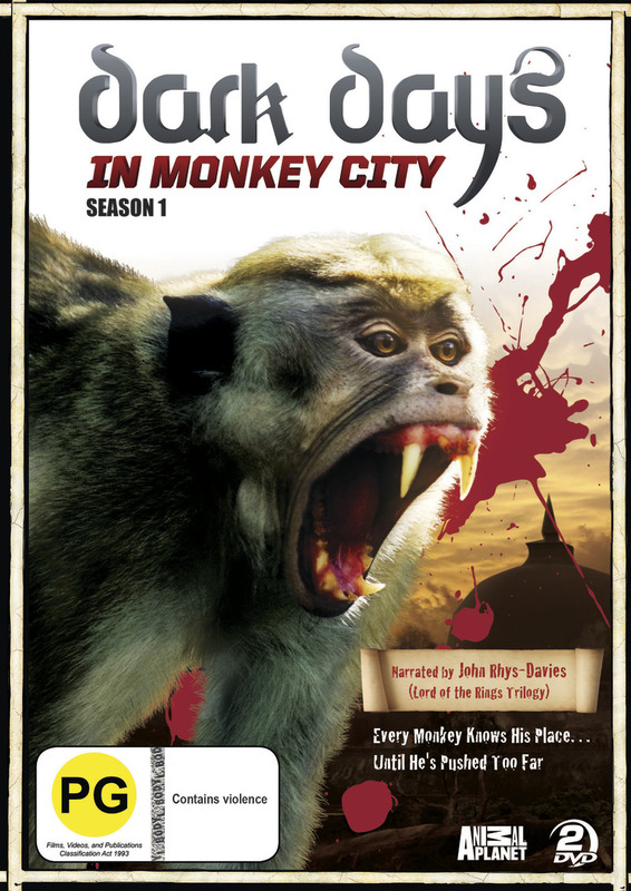 Dark Days in Monkey City - Season One on DVD