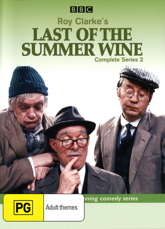 Last Of The Summer Wine (Roy Clarke's) - Complete Series 2 (2 Disc Set) on DVD