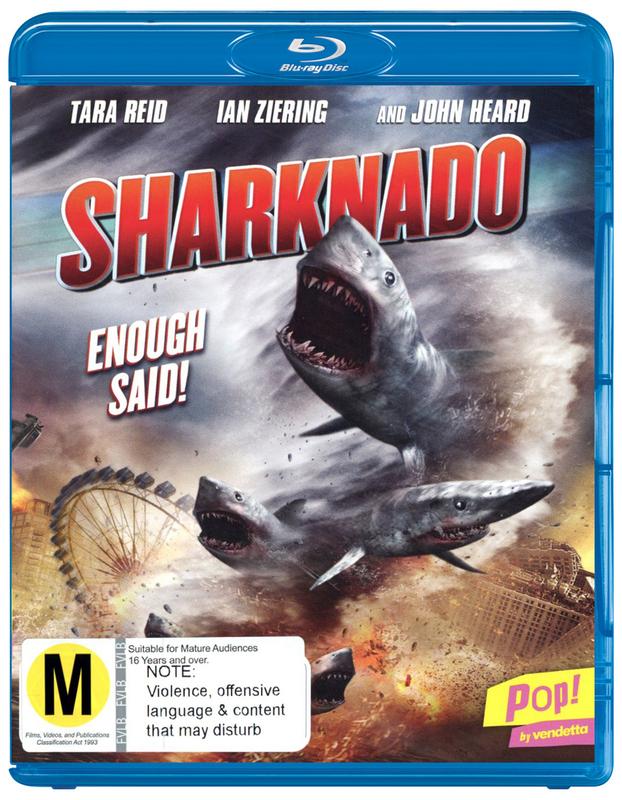Sharknado on Blu-ray